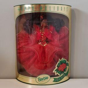 Barbie happy holidays doll